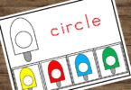 Fun shape sorting activity for kids