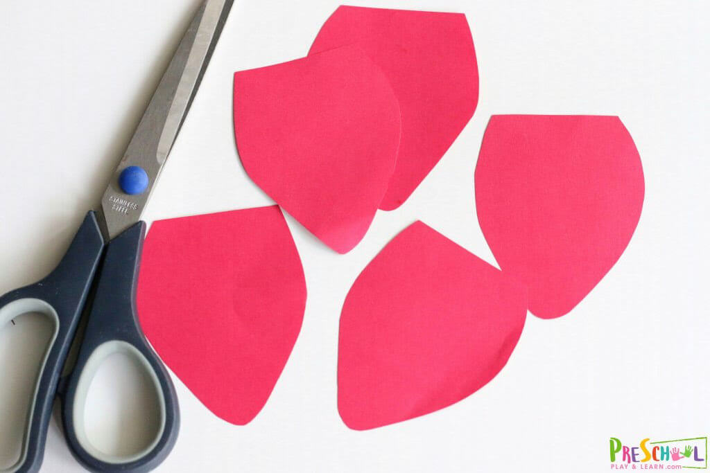 Strawberry Construction Paper craft
