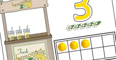 Such a fun ten frame activity for summer learning with preschool, prek, and kindergarten