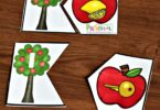 FREE Apple ABC Game - fun, hands on phonics game to help preschoolers and kindergartners practice beginning sounds with a fun September apple theme for back to school #backtoschool #appletheme #alphabet