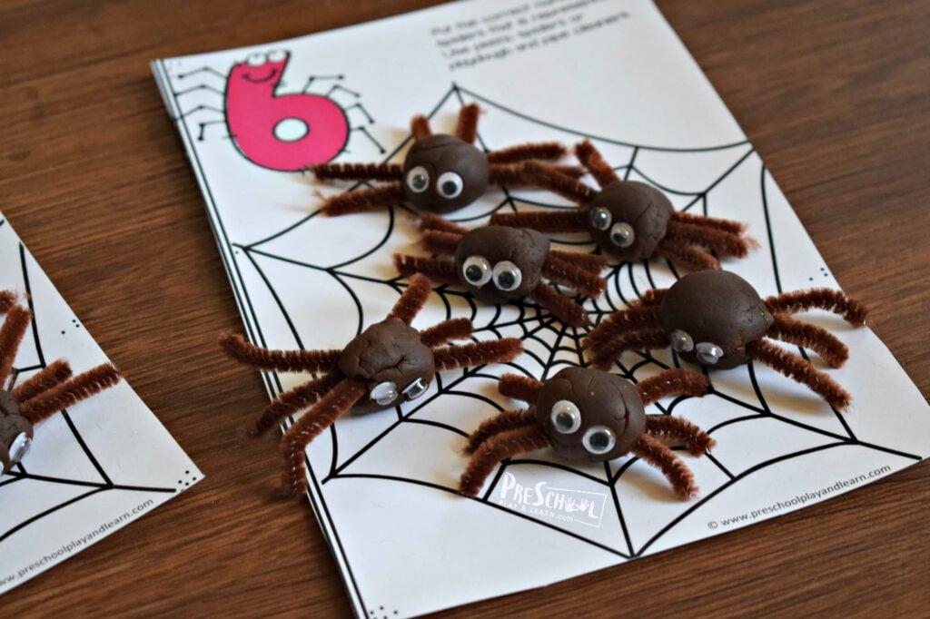 fun count to 10 activity for preschoolers in october