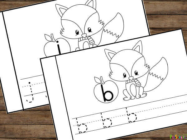 free alphabet printables for toddler, preschool, prek, and kindergarten age kids