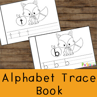 fall printables for preschoolers and kindergartners to learn their letters