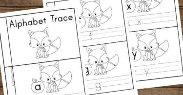 black and white printable letter tracing books for early readers