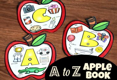 Fun to make A to Z Apple Book