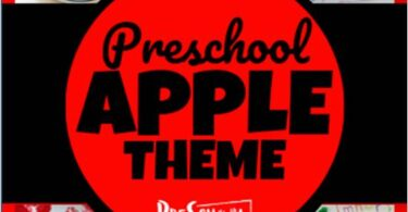 Super cute apple preschool theme with so many ideas