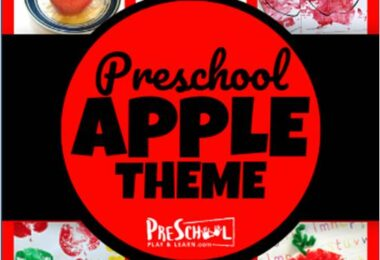 Super cute apple preschool theme with so many ideas