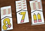 Fun back to school activity for preschool, prek, and kindergarten age kids to practice counting to 10