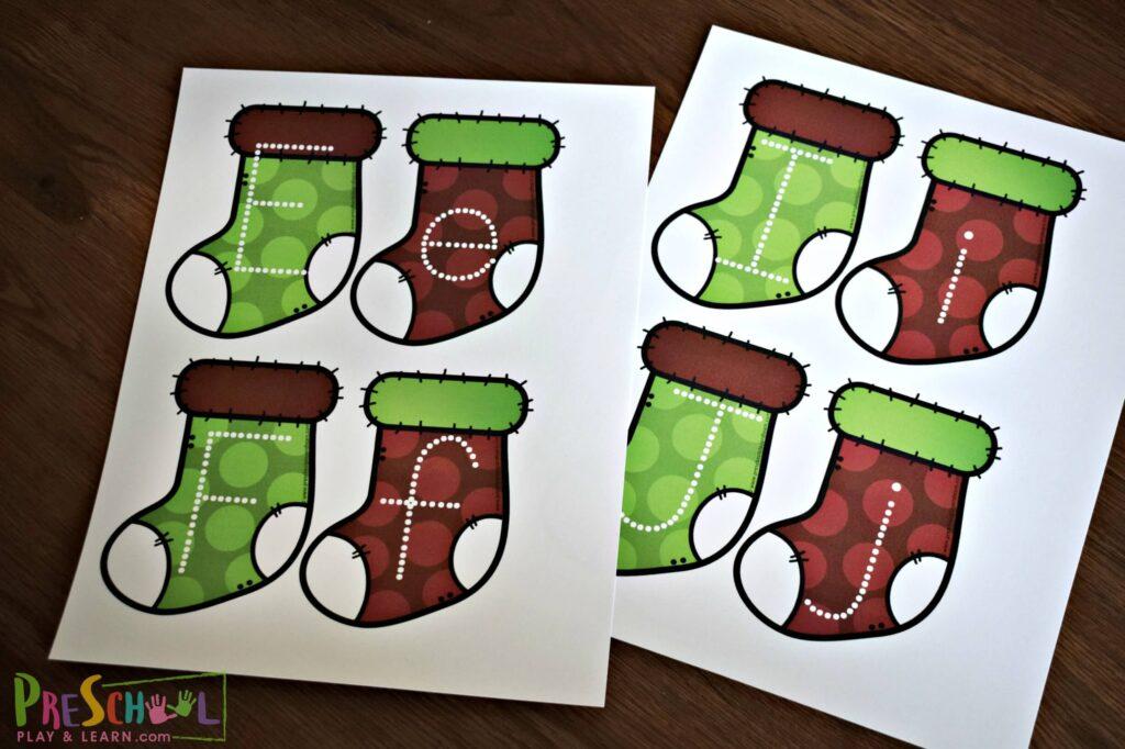 free christmas printable for fun educational activities for kids