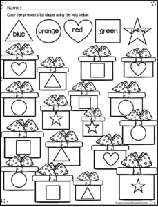 christmas-shape-worksheets