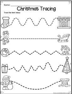 christmas-tracing-lines