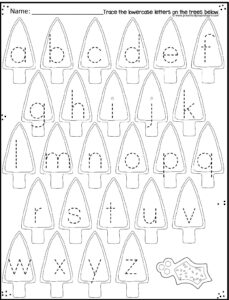 christmas-tracing-uppercase-letters
