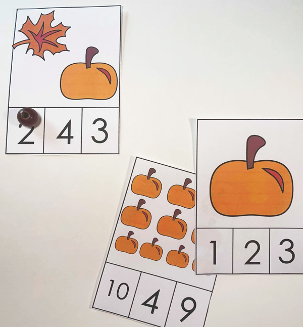 This is such a fun count to 10 activity for preschoolers
