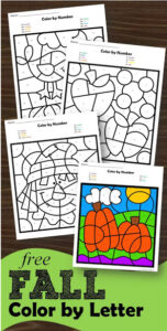 fall-color-by-letter-worksheets