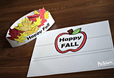 fun and easy to make fall craft for kids of all ages