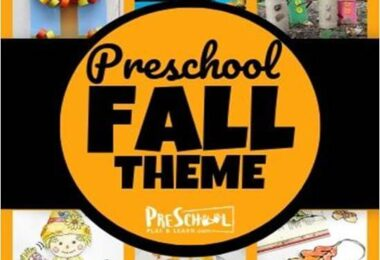 So many fun fall theme ideas for preschoolers