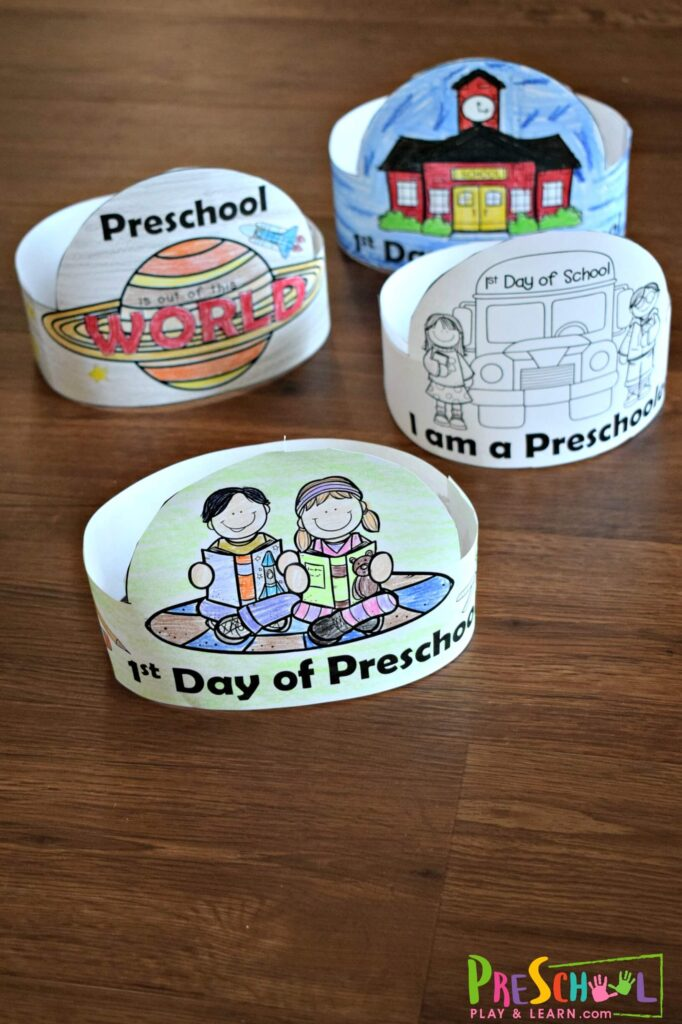 Super cute craft to make for the first day of prek