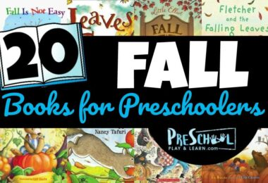preschool fall books