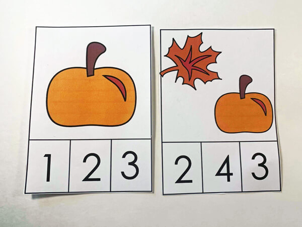 fun, educational preschool fall activity