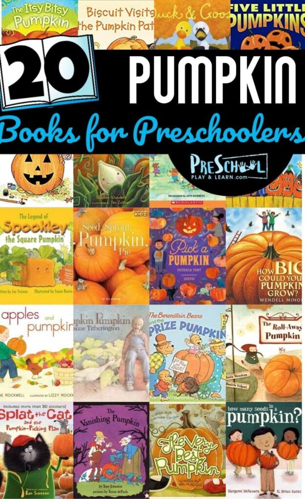 You are going to love these super sweet Pumpkin Books for Preschoolers to read in October. Who knew there were so many clever pumpkin books?