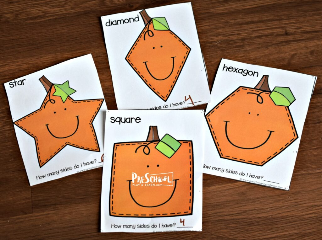 free playdough mats perfect for learning bout shapes in the fall
