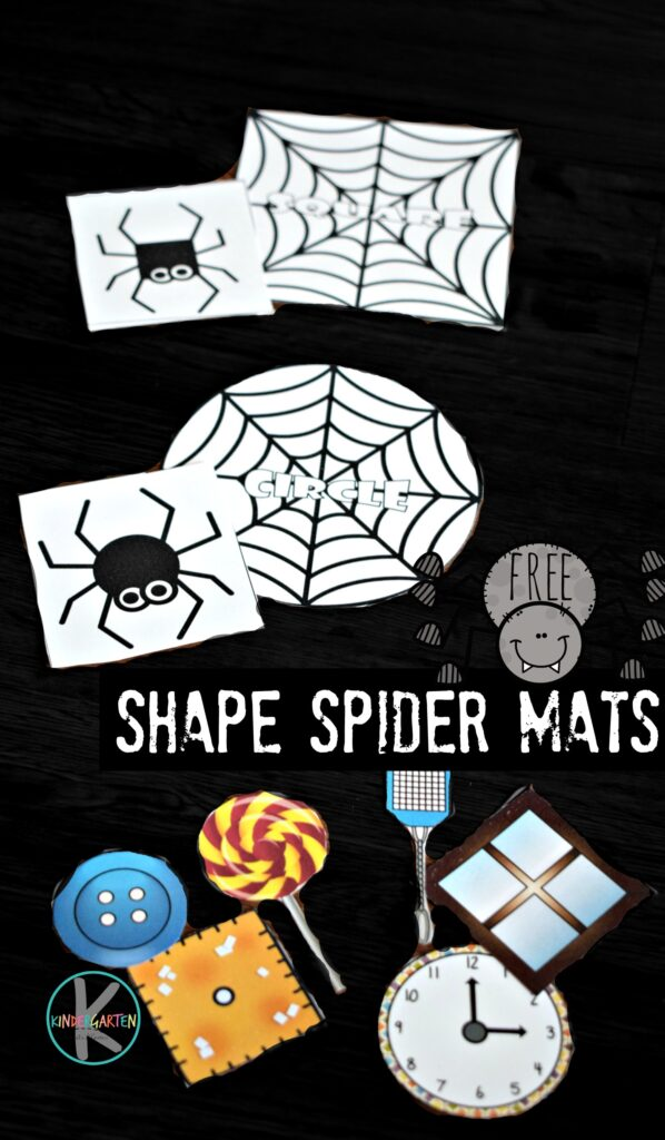 FREE Shape Spider mats