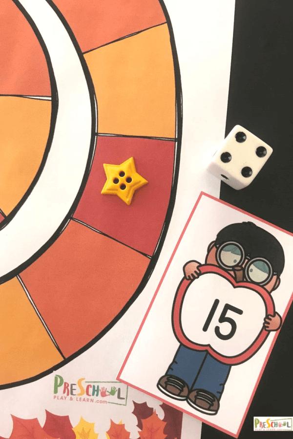 Number Game for Preschoolers