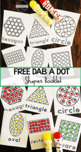 shape do a dot printables