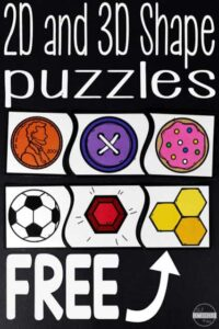 shape puzzles printable