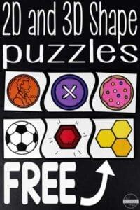 shape puzzles printable
