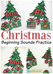 christmas phonics