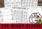 Night Before Christmas Printables