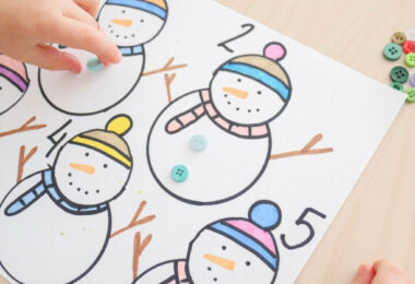 snowman activity for preschoolers