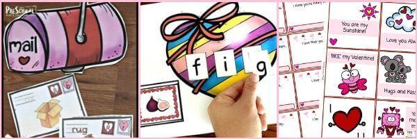 Valentines Day LIteracy Activities