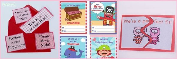 super cute and FREE vavlentines day printables