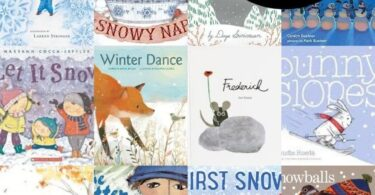 Snuggle up with these 20 Winter Books for Preschoolers that will delight, amuse, and teach kids of all ages during January. #winterbooks #preschool #preschoolbooks