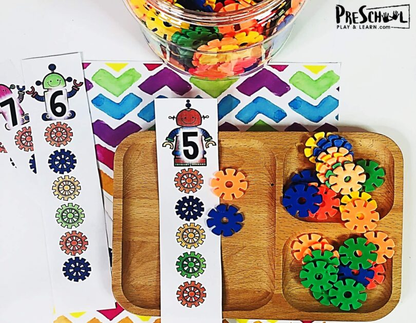 number activities for preschoolers