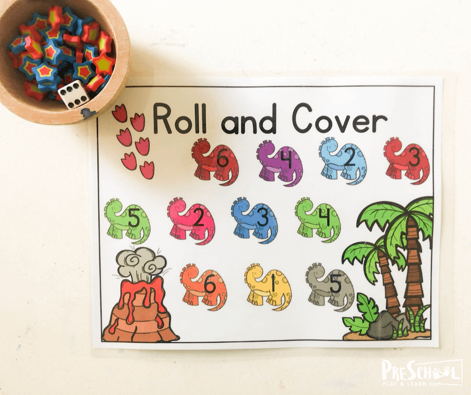 number games for preschoolers