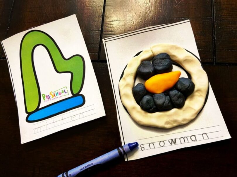 Play Doh Cards