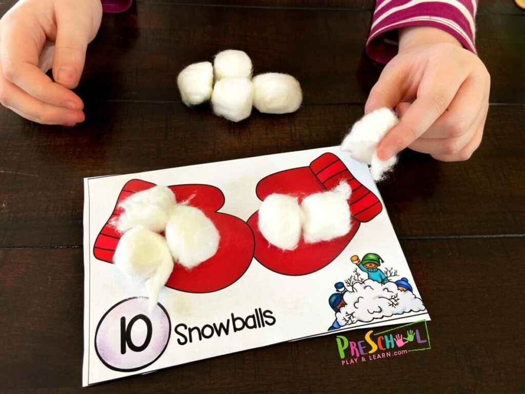 winter activities for preschoolers