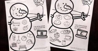 free printable snwoman worksheets for toddler, preschool, and kindergarten age kids