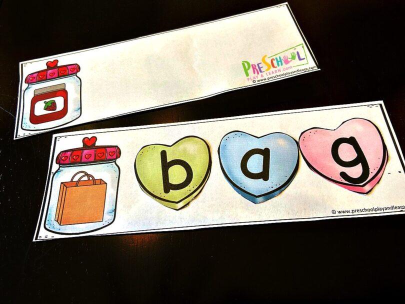 cvc words for preschool