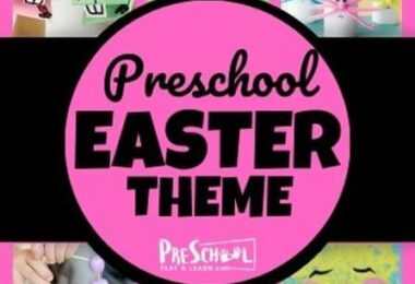 Preschool Easter Theme filled with tons of fun, engaging, and educational easter activiites for preschoolers and prek students
