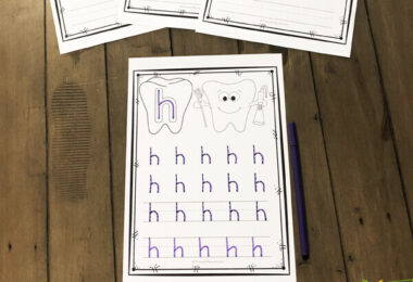 printable alphabet worksheets for preschoolers, kindergarten, or first graders to tracing letters in february