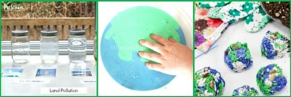 earth day activities to celebrate earth day on april 22 with toddler, preschool, prek, kinderarten, and first gradee