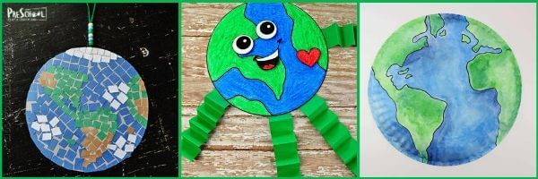 adorable earth day crafts for kids of all ages