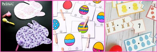 easter themed math activities for preschoolers