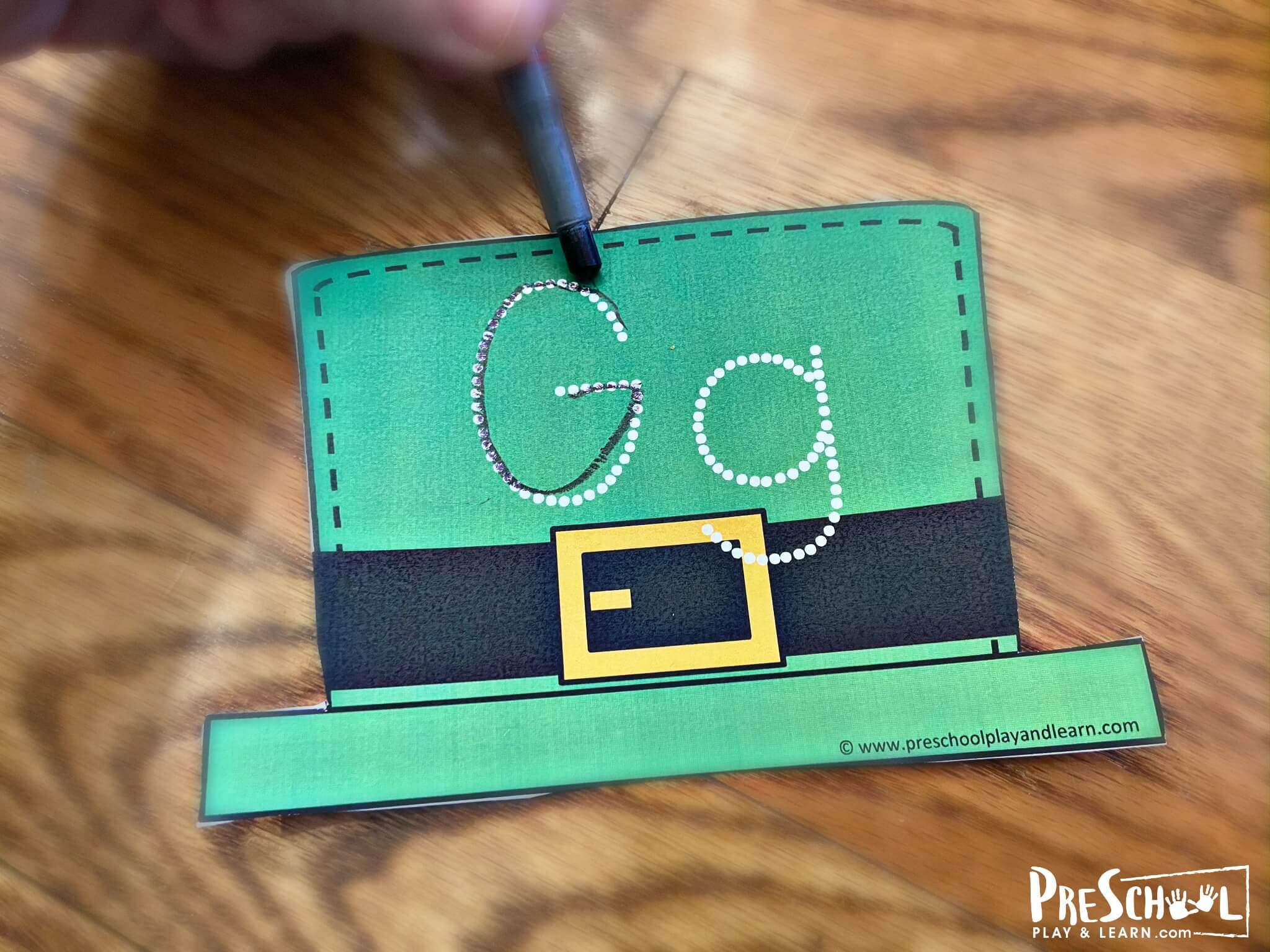 this activity is such a fun, educational idea for st patrick for kids