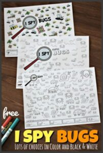 I Spy Printable Game