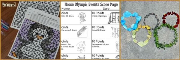 Olympic Math Activities